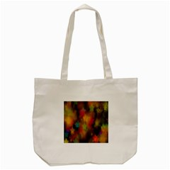 Star Background Texture Pattern Tote Bag (cream) by Onesevenart