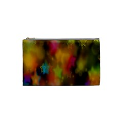 Star Background Texture Pattern Cosmetic Bag (small)  by Onesevenart