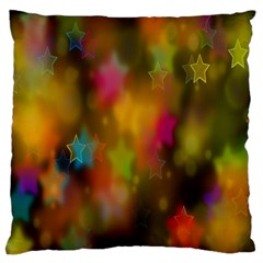 Star Background Texture Pattern Standard Flano Cushion Case (one Side) by Onesevenart
