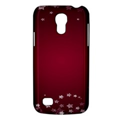 Star Background Christmas Red Galaxy S4 Mini by Onesevenart