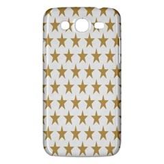 Star Background Gold White Samsung Galaxy Mega 5 8 I9152 Hardshell Case  by Onesevenart