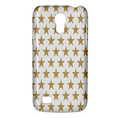 Star Background Gold White Galaxy S4 Mini by Onesevenart