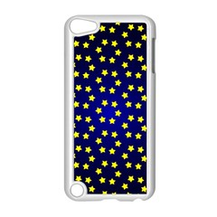 Star Christmas Red Yellow Apple Ipod Touch 5 Case (white) by Onesevenart