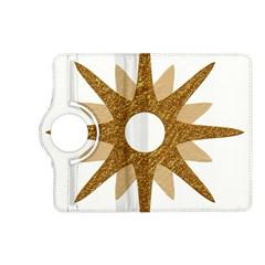 Star Golden Glittering Yellow Rays Kindle Fire Hd (2013) Flip 360 Case by Onesevenart