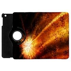 Star Sky Graphic Night Background Apple Ipad Mini Flip 360 Case by Onesevenart