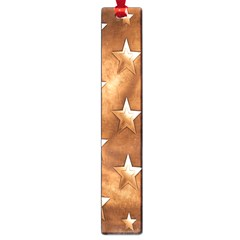 Stars Brown Background Shiny Large Book Marks by Onesevenart