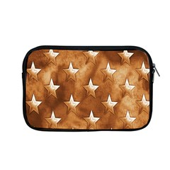 Stars Brown Background Shiny Apple Macbook Pro 13  Zipper Case by Onesevenart