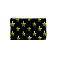 Stars Backgrounds Patterns Shapes Cosmetic Bag (small)  by Onesevenart