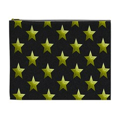 Stars Backgrounds Patterns Shapes Cosmetic Bag (xl) by Onesevenart