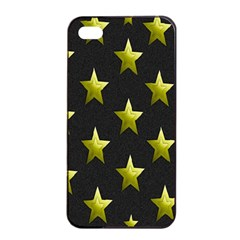 Stars Backgrounds Patterns Shapes Apple Iphone 4/4s Seamless Case (black) by Onesevenart