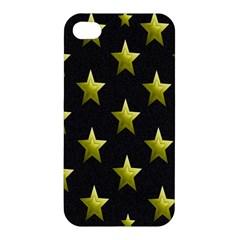 Stars Backgrounds Patterns Shapes Apple Iphone 4/4s Hardshell Case by Onesevenart