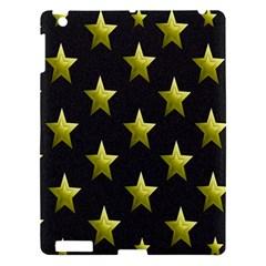 Stars Backgrounds Patterns Shapes Apple Ipad 3/4 Hardshell Case by Onesevenart