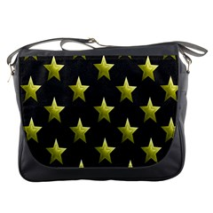 Stars Backgrounds Patterns Shapes Messenger Bags by Onesevenart