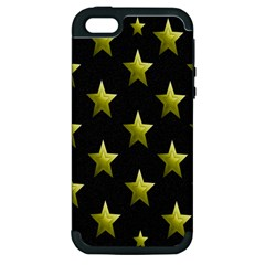 Stars Backgrounds Patterns Shapes Apple Iphone 5 Hardshell Case (pc+silicone) by Onesevenart