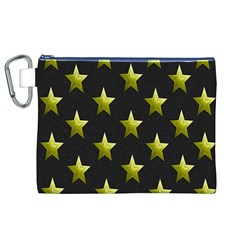 Stars Backgrounds Patterns Shapes Canvas Cosmetic Bag (xl) by Onesevenart