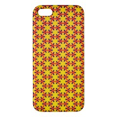 Texture Background Pattern Apple Iphone 5 Premium Hardshell Case by Onesevenart