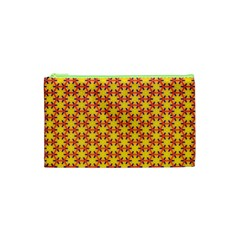 Texture Background Pattern Cosmetic Bag (xs) by Onesevenart