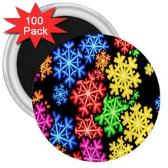 Wallpaper Background Abstract 3  Magnets (100 Pack) by Onesevenart