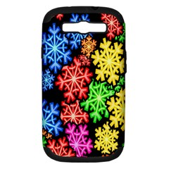 Wallpaper Background Abstract Samsung Galaxy S Iii Hardshell Case (pc+silicone) by Onesevenart