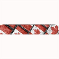 Canadian Flag Motif Pattern Small Bar Mats by dflcprints