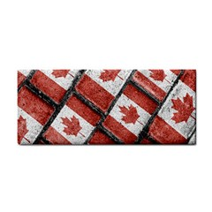 Canadian Flag Motif Pattern Cosmetic Storage Cases by dflcprints