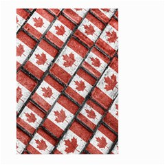 Canadian Flag Motif Pattern Large Garden Flag (two Sides) by dflcprints