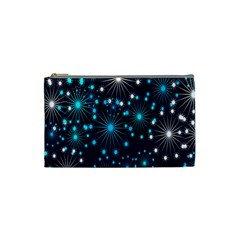 Wallpaper Background Abstract Cosmetic Bag (small)  by Onesevenart