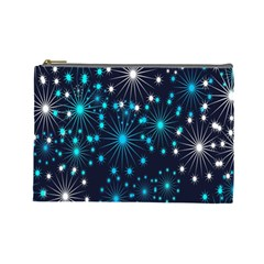 Wallpaper Background Abstract Cosmetic Bag (large)  by Onesevenart