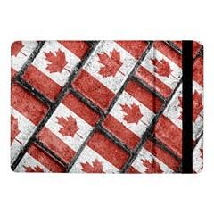 Canadian Flag Motif Pattern Samsung Galaxy Tab Pro 10 1  Flip Case by dflcprints