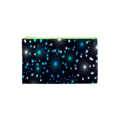 Wallpaper Background Abstract Cosmetic Bag (xs) by Onesevenart