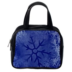 Winter Hardest Frost Cold Classic Handbags (one Side) by Onesevenart