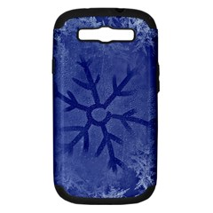 Winter Hardest Frost Cold Samsung Galaxy S Iii Hardshell Case (pc+silicone) by Onesevenart
