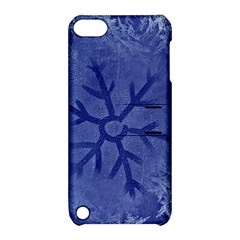 Winter Hardest Frost Cold Apple Ipod Touch 5 Hardshell Case With Stand by Onesevenart