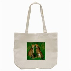 Animals Cheetah Tote Bag (cream) by Jojostore