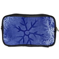Winter Hardest Frost Cold Toiletries Bags by Onesevenart