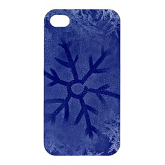 Winter Hardest Frost Cold Apple Iphone 4/4s Hardshell Case by Onesevenart