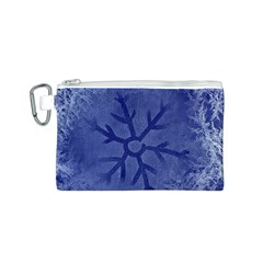 Winter Hardest Frost Cold Canvas Cosmetic Bag (s) by Onesevenart