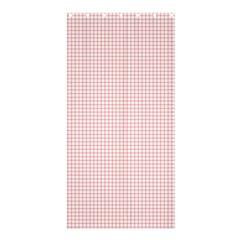 Red Line Plaid Vertical Horizon Shower Curtain 36  X 72  (stall)  by Jojostore