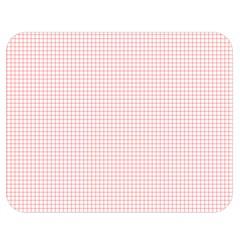 Red Line Plaid Vertical Horizon Double Sided Flano Blanket (medium)  by Jojostore