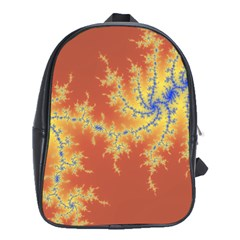 Fractals School Bag (xl) by 8fugoso