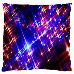Star Light Space Planet Rainbow Sky Blue Red Purple Standard Flano Cushion Case (one Side) by Jojostore