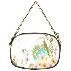Wreaths Sexy Flower Star Leaf Rose Sunflower Bird Summer Chain Purses (one Side)  by Mariart