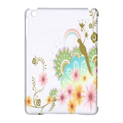 Wreaths Sexy Flower Star Leaf Rose Sunflower Bird Summer Apple Ipad Mini Hardshell Case (compatible With Smart Cover) by Mariart