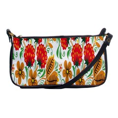 Flower Floral Red Yellow Leaf Green Sexy Summer Shoulder Clutch Bags by Mariart