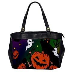 Happy Halloween Office Handbags by Mariart