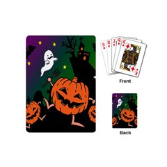 Happy Halloween Playing Cards (mini)  by Mariart
