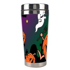 Happy Halloween Stainless Steel Travel Tumblers by Mariart