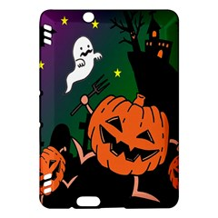 Happy Halloween Kindle Fire Hdx Hardshell Case by Mariart