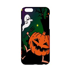 Happy Halloween Apple Iphone 6/6s Hardshell Case by Mariart