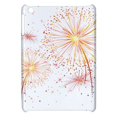 Fireworks Triangle Star Space Line Apple Ipad Mini Hardshell Case by Mariart